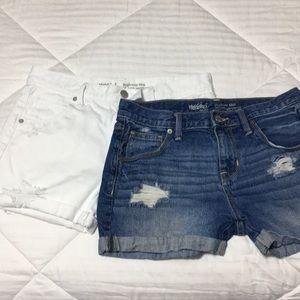 Set of 2 boyfriend shorts